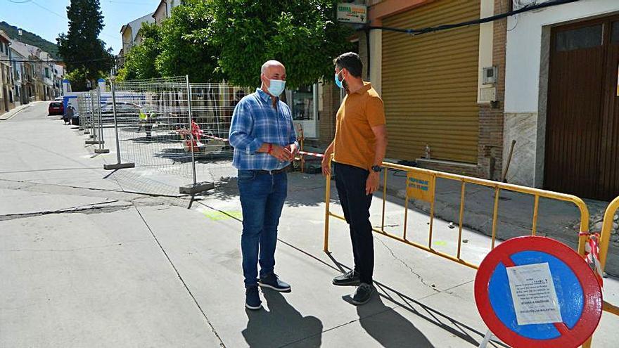 Las obras del PFEA en Rute mejoran tres calles
