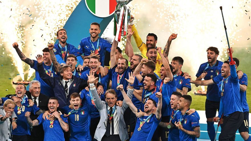 Italia castiga la cobardía inglesa