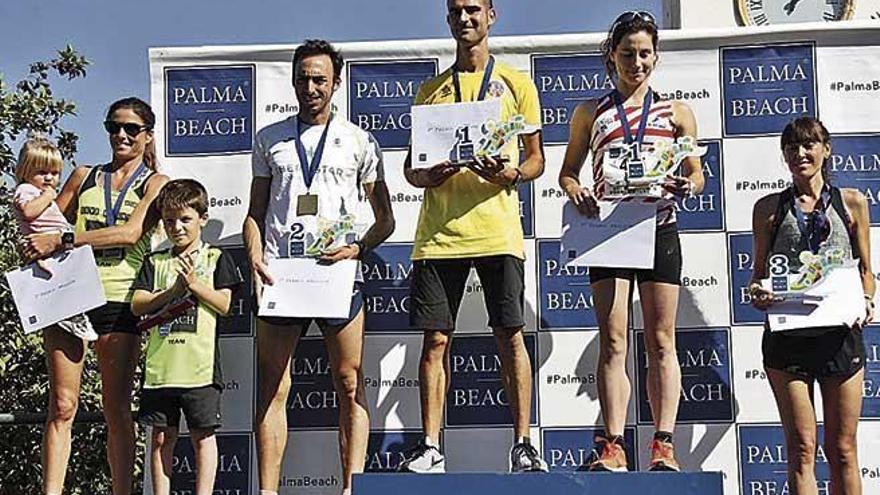 Víctor Muñoz y Gemma Llabrés se adjudican la Palma Beach