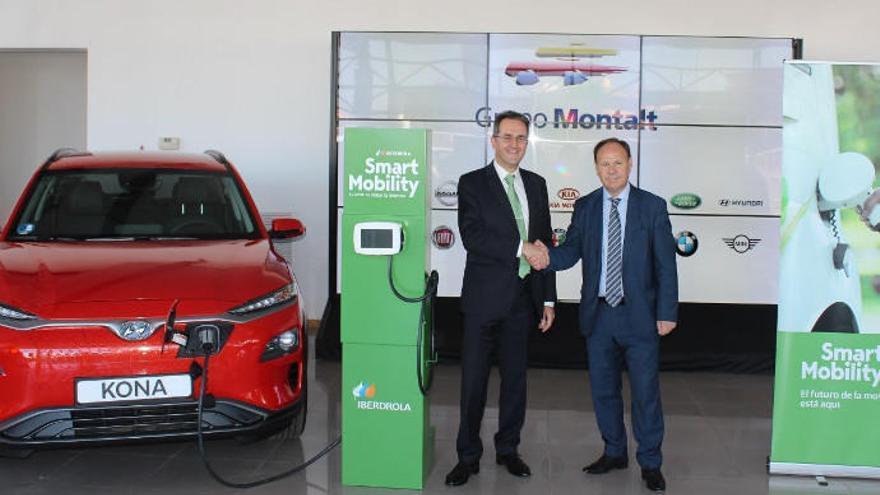 Grupo Montalt e Iberdrola llegan a un acuerdo para fomentar la movilidad sostenible
