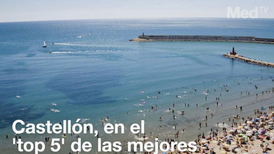 Castellón se consolida en el 'top 5' de las mejores playas de España