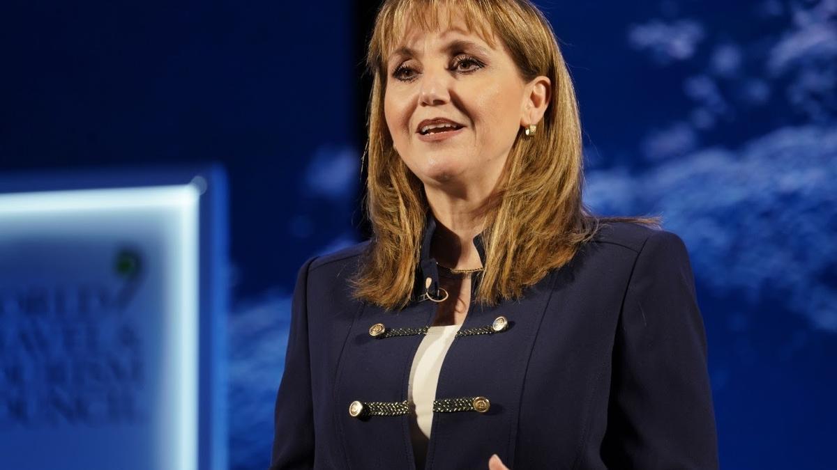 Gloria Guevara, presidenta del WTTC