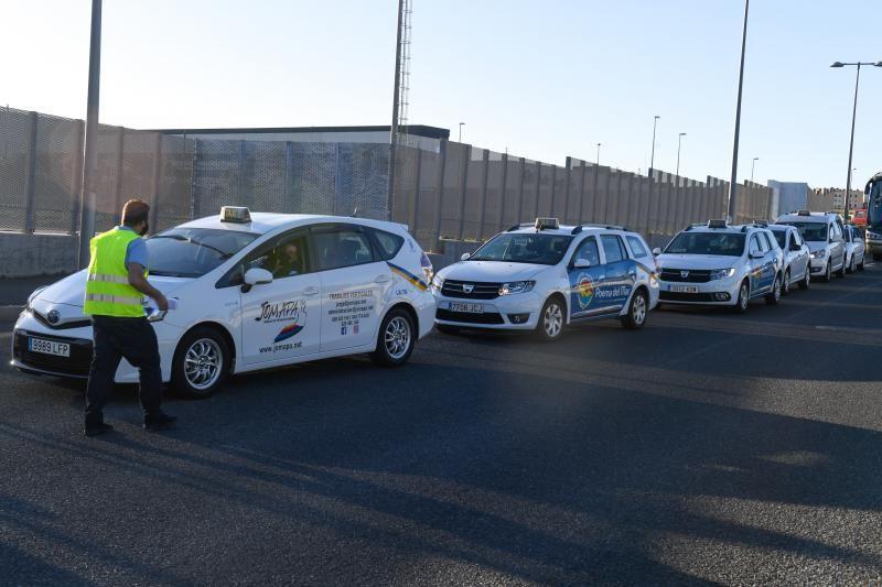 Concentración Taxistas por la regulación de días libres