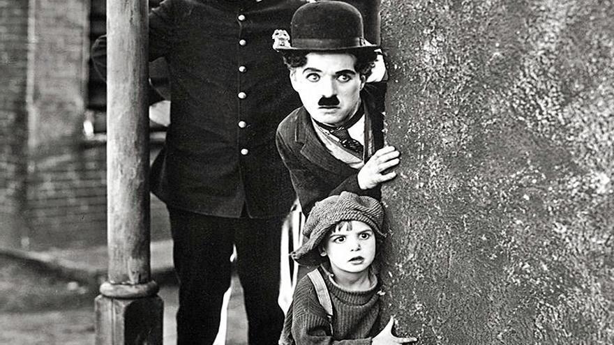 La Filmoteca rinde honores a Chaplin en el centenario  de 'El chico'
