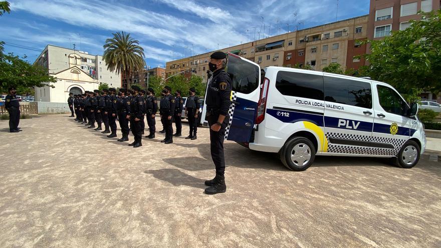 La Policía Local de València crea una unidad especial para vigilar el tardeo