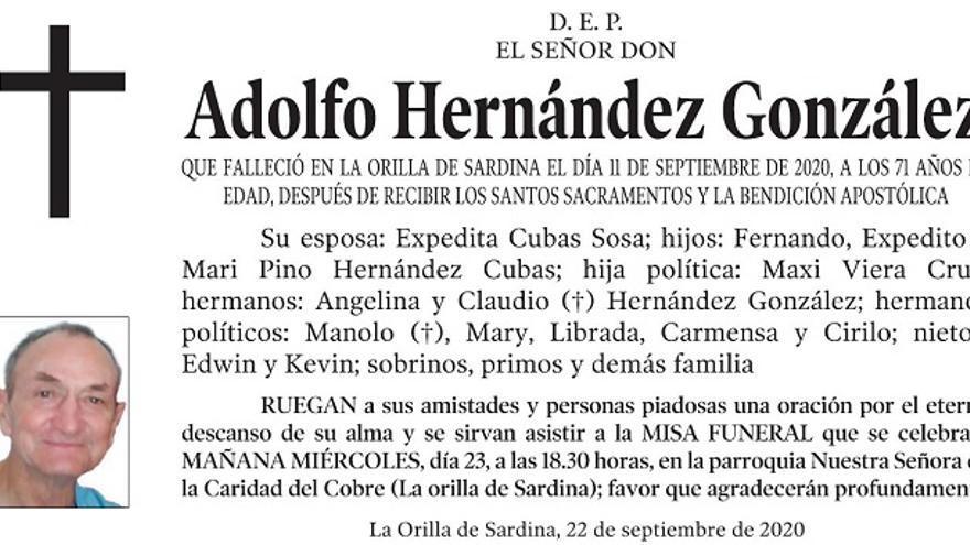 Adolfo Hernández González