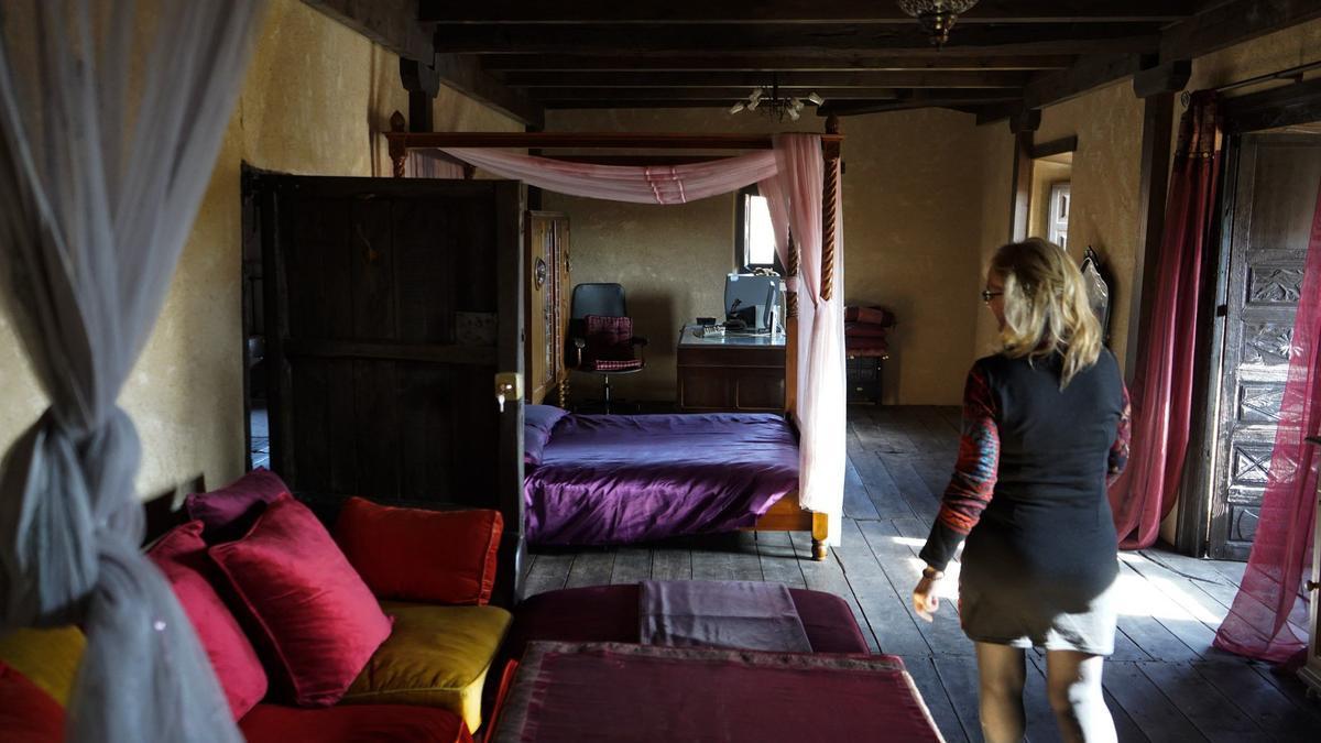 Interior de un alojamiento de turismo rural