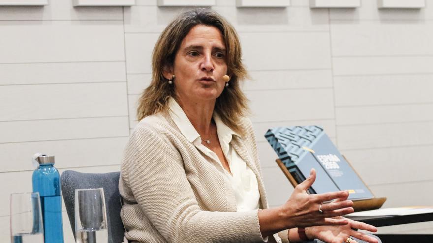 """Ribera: """"Es una barbaridad turbinar el 70 % de un embalse en seis semanas"""""""