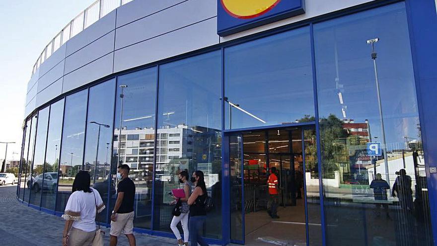 Lidl destina 4,5 millones a su tercera tienda en la capital