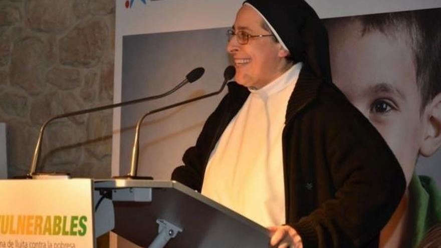 Sor Lucía Caram fa una xerrada a Figueres sobre la pobresa