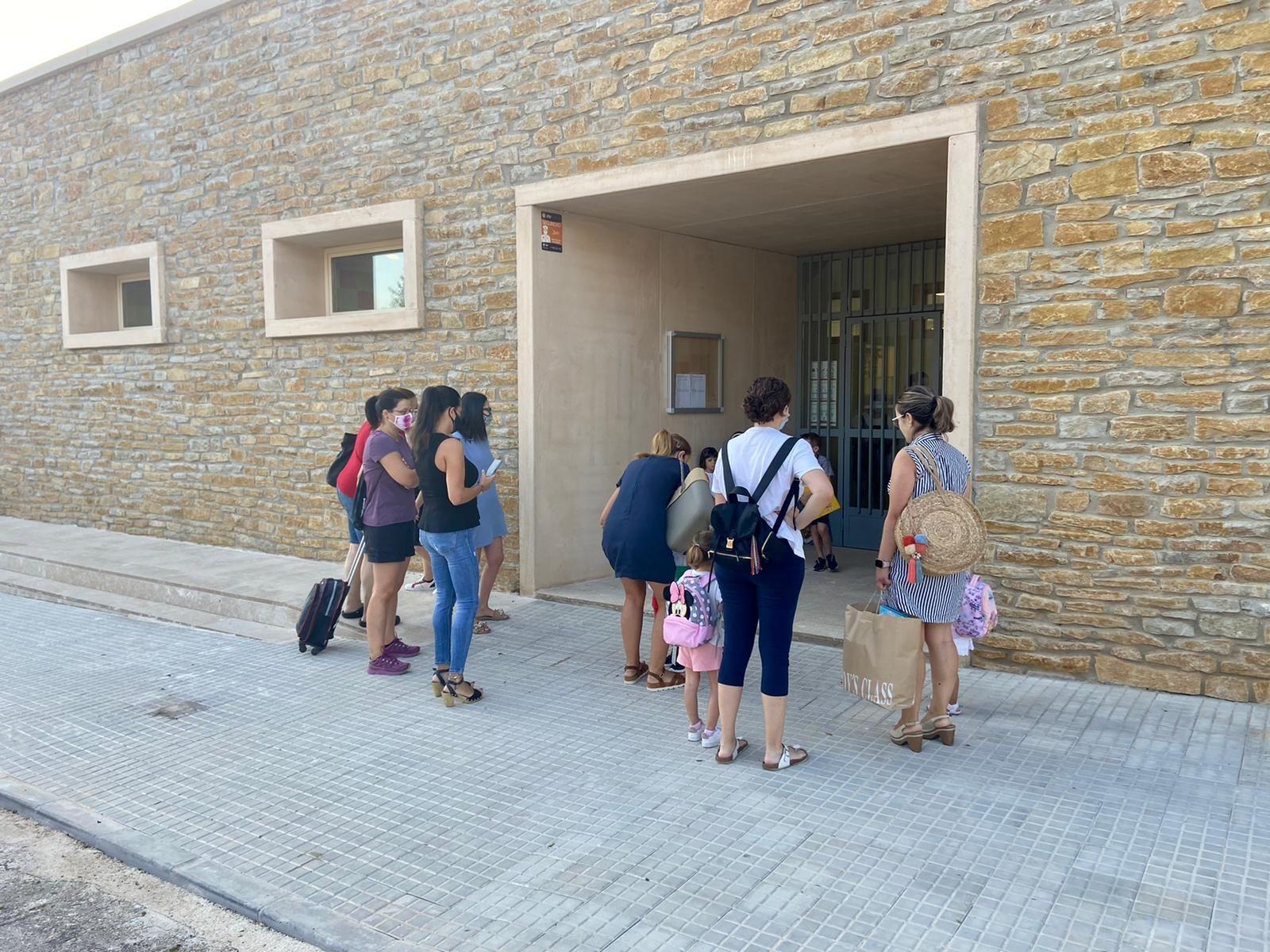Las mejores imágenes de la vuelta al cole en Castellón