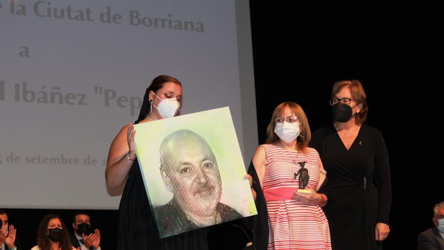 José Pascual Ibáñez 'Pepet' recibe formalmente el título de Hijo Predilecto de Burriana