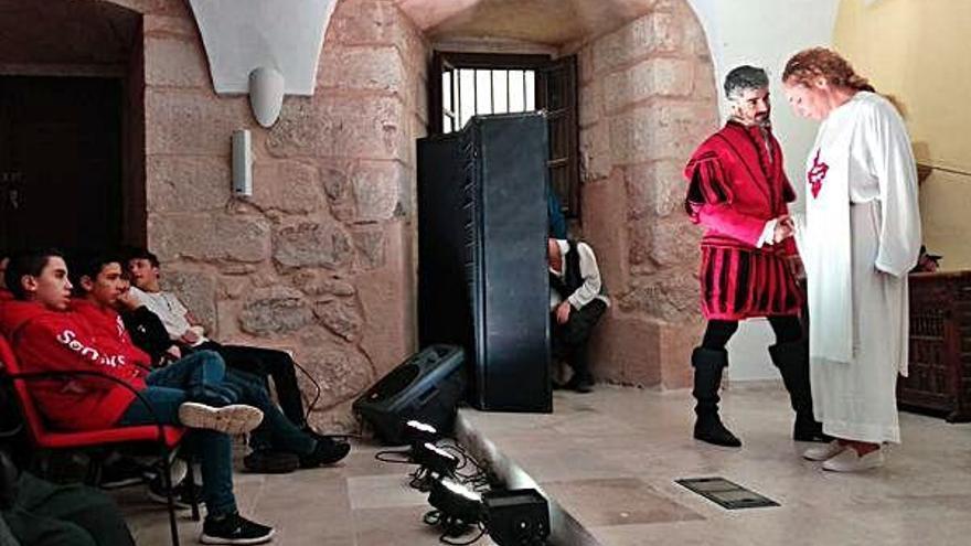 La Tijera representa Don Juan Tenorio en el Seminario San Atilano