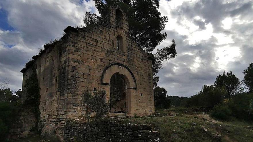 Monistrol vol consolidar les restes de l'ermita de Sant Antolí