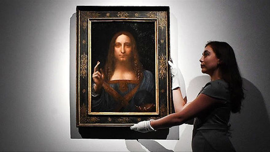 El 'Salvator Mundi' de Leonardo da Vinci, el quadre més car de la història