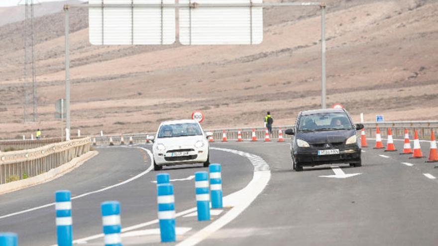 El tramo de la autovía entre La Caldereta y Puerto del Rosario afecta a 125 fincas