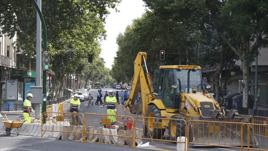 El Ayuntamiento ampliará el carril bus de Ronda de los Tejares para dar más velocidad a los autobuses