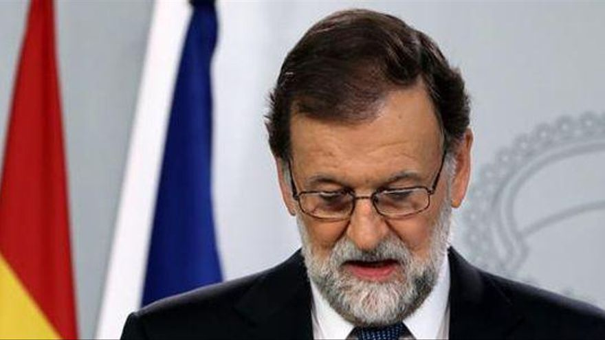 """Rajoy pide hoy su comparecencia en el Congreso para """"reflexionar"""" tras el 1-O"""