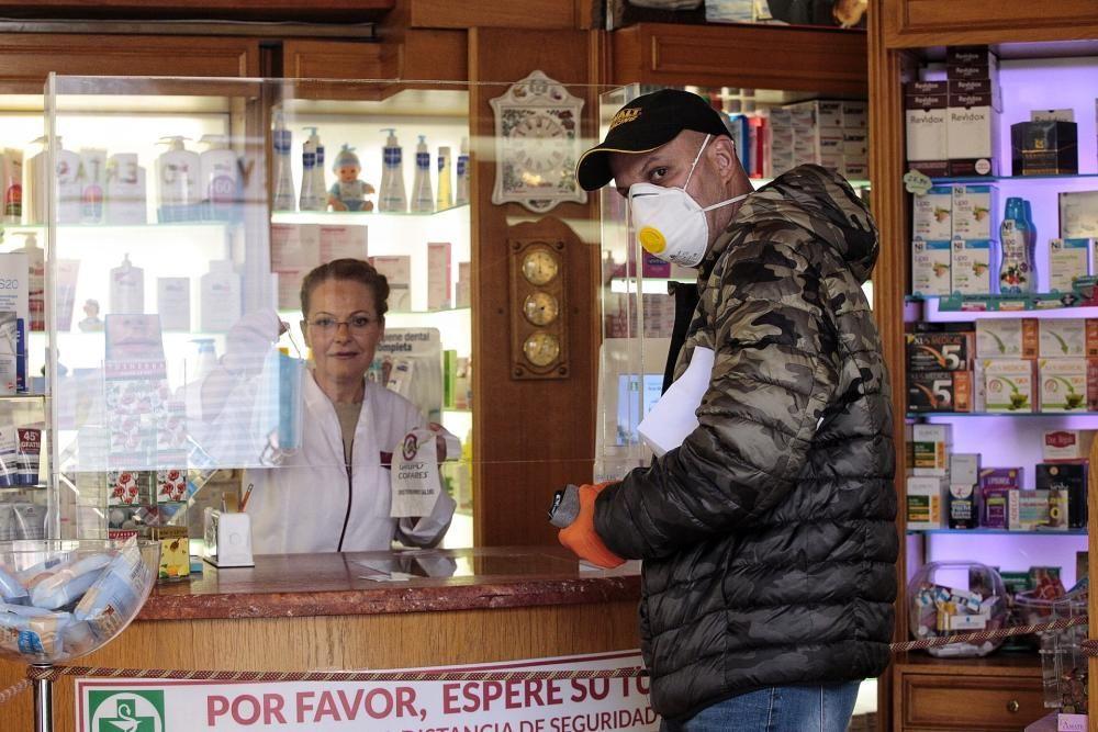 Venta mascarillas en farmacias