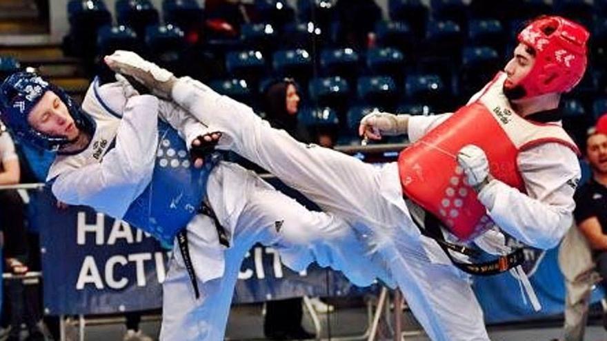 Joan Jorquera es corona campió a Montenegro