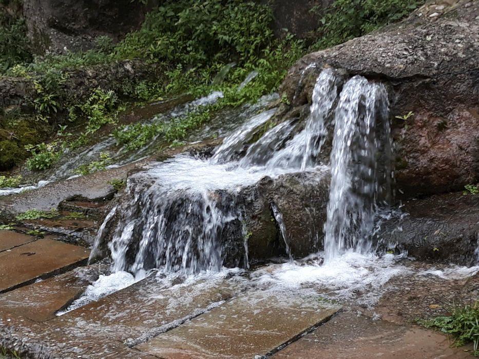 Rellinars. A les fonts de Rellinars si s'ensopega la visita després d'un període de pluges, la quantitat d'aigua de les surgències sorprèn positivament el visitant. Un paratge bonic de debò.
