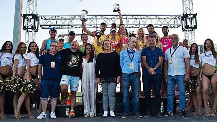 Moreno y Jiménez ganan la Copa del Rey en Maspalomas