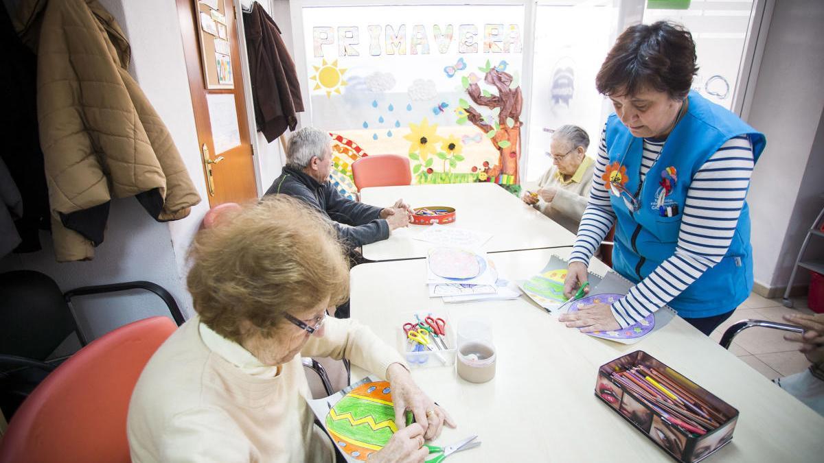 Taller para personas con alzheimer en Valencia