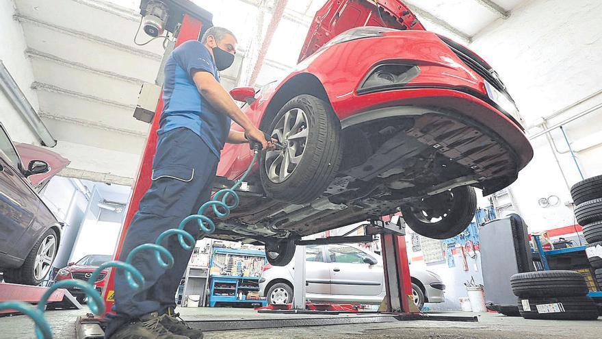La reparación de vehículos alcanza ya niveles de actividad prepandemia