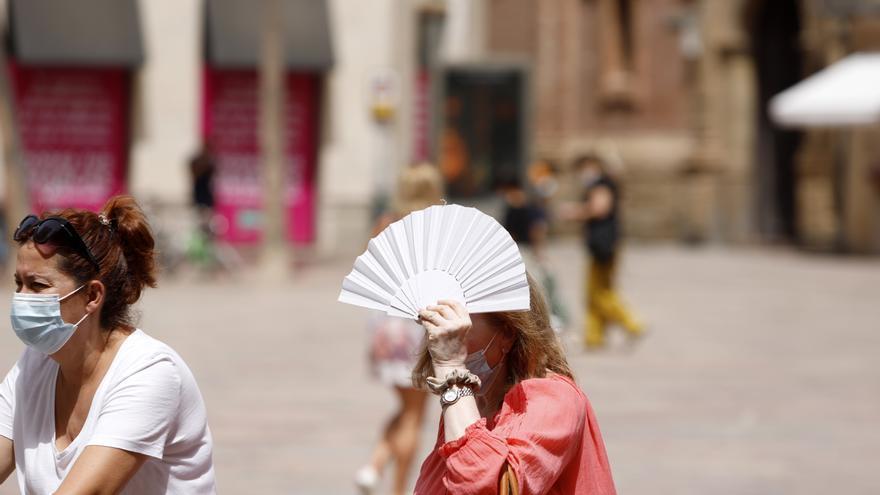 La provincia de Málaga registra algunas de las temperaturas más altas de España