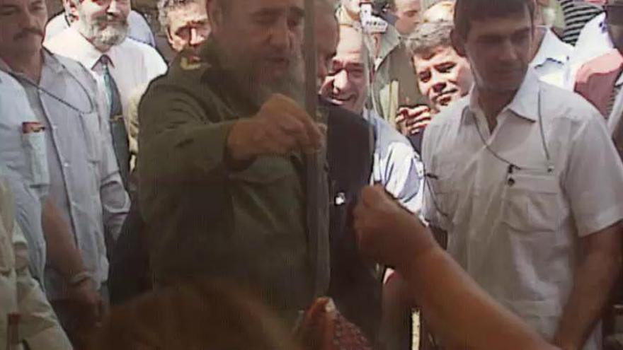 El día que Castro visitó la casa de su padre en Galicia