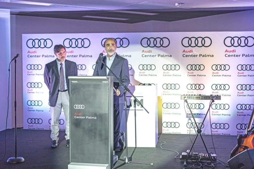 Antonio Payeras presentó el servicio Audi on demand.