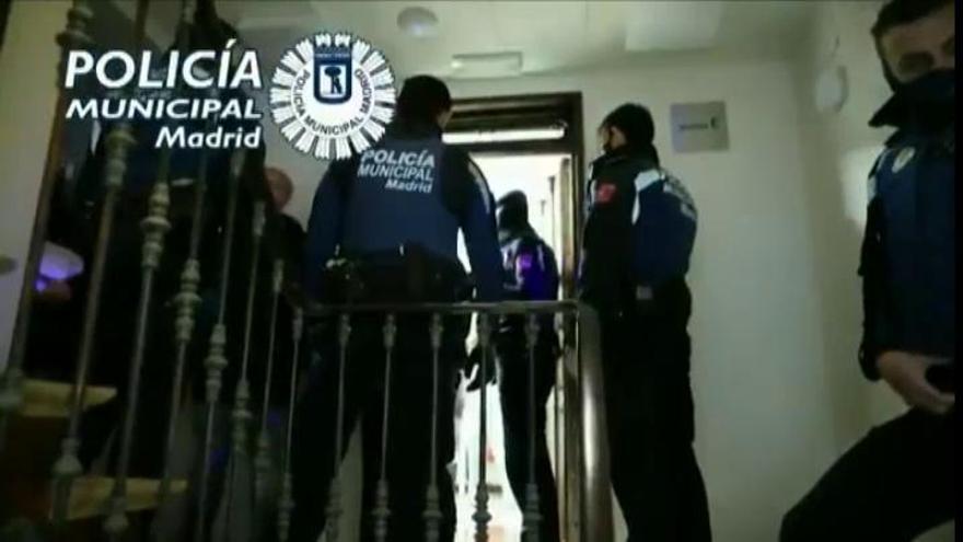 Hasta 370 fiestas ilegales en Madrid este fin de semana