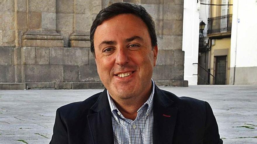 Valentín González Formoso na Coruña.     // VÍCTOR ECHAVE