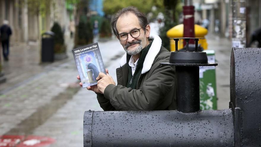Antonio Giráldez - La peste en Vigo