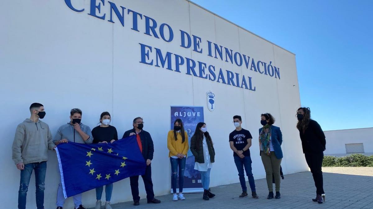 Siete alumnos de Almendralejo viajan a Italia para prácticas en empresas