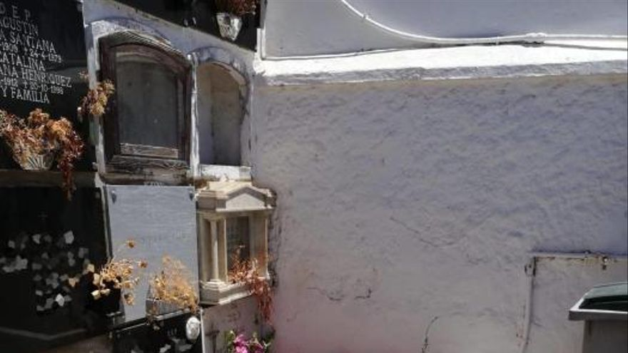 Coronavirus en Canarias | Así están los cementerios de Telde tras el Día de las Madres