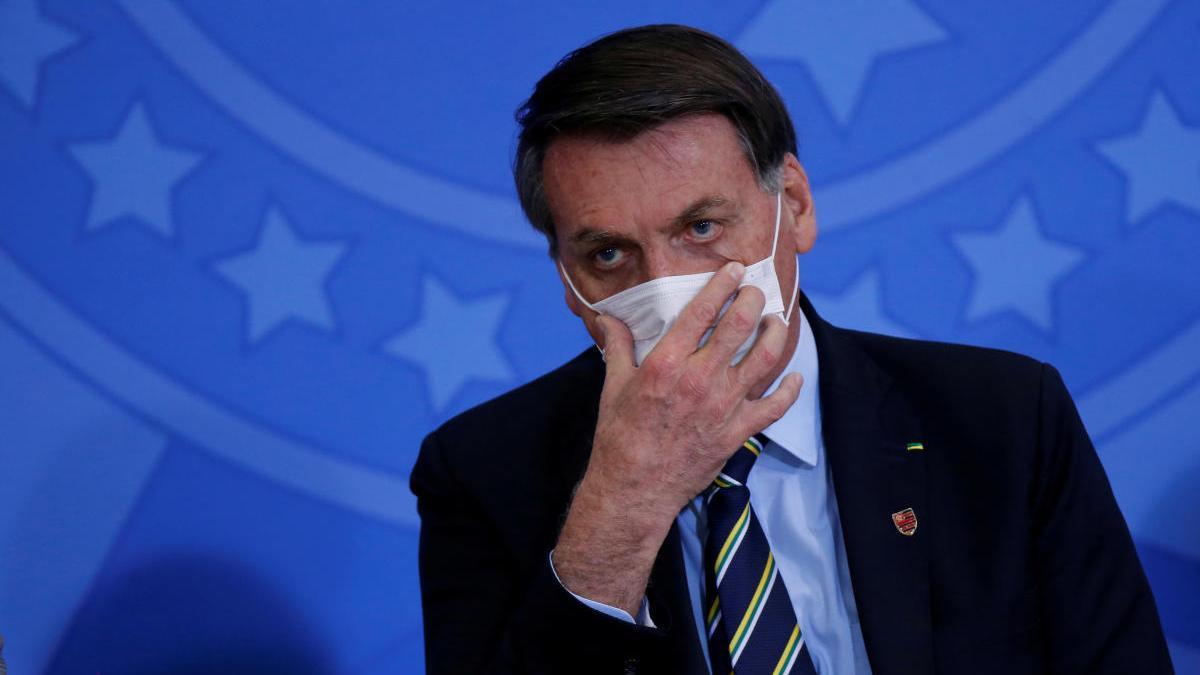 El presidente brasileño Jair Bolsonaro.