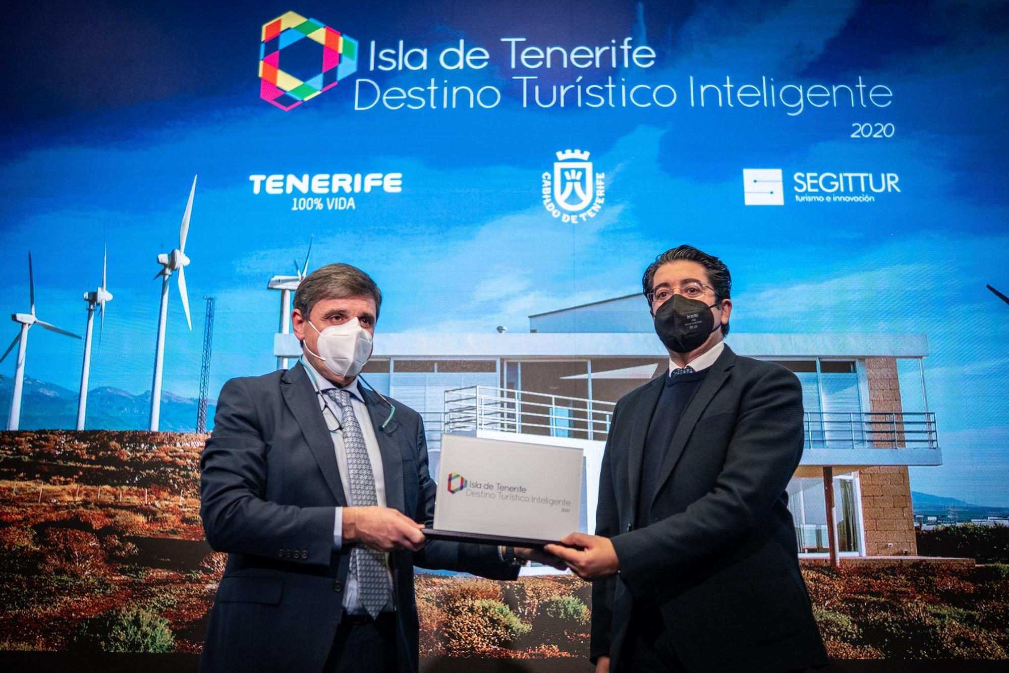 Tenerife, primera isla española que se convierte en Destino Turístico Inteligente
