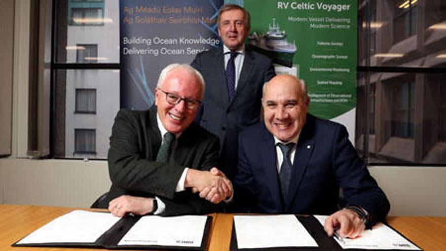 Armón Vigo firma la construcción de un buque oceanográfico para Irlanda valorado en 22,5 millones