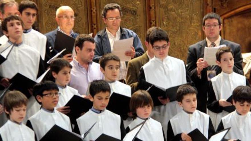 L'Escolania de Montserrat inicia el curs amb la presentació d'un nou CD