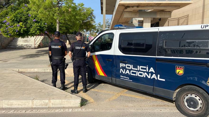 Detenidos siete jóvenes en Alicante por robar y pegar una paliza a un extranjero