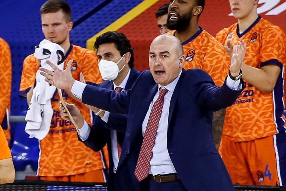 Ponsarnau, su paso por Valencia Basket en imágenes