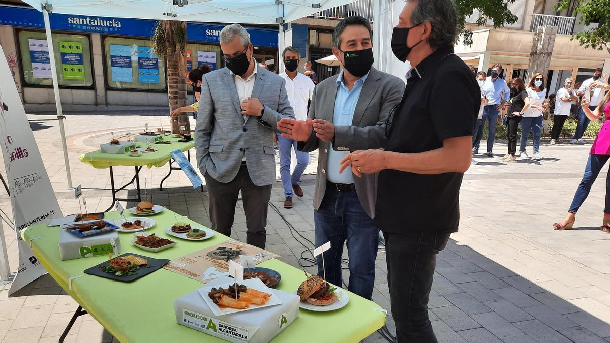 Un momento de la presentación de la iniciativa gastronómica