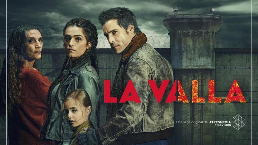 'La valla' lanza su cartel antes de estrenarse en Atresplayer