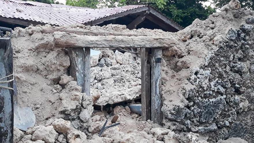 Varios terremotos dejan ocho muertos en Filipinas