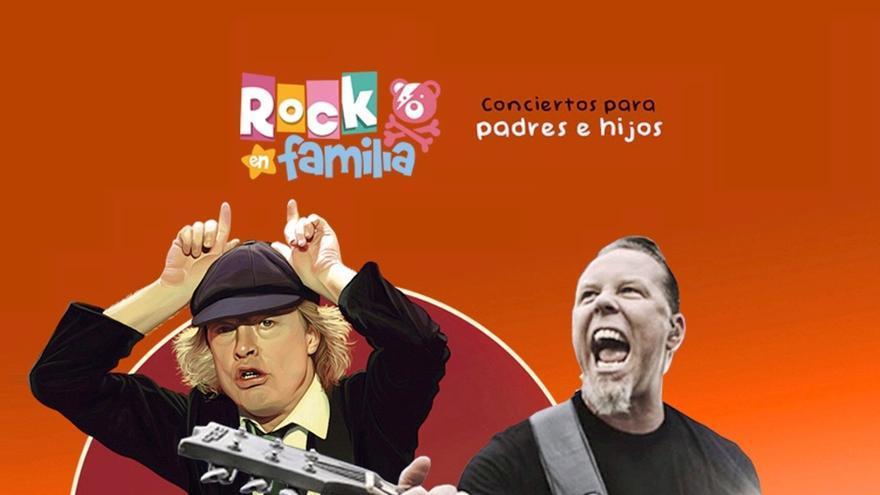Concierto de Rock en familia en Zamora: descubriendo a Metallica y AC/DC