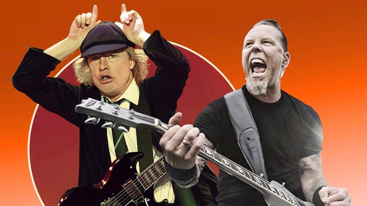 Concierto de Rock en familia, descubriendo a AC/DC y Metallica en Zamora.