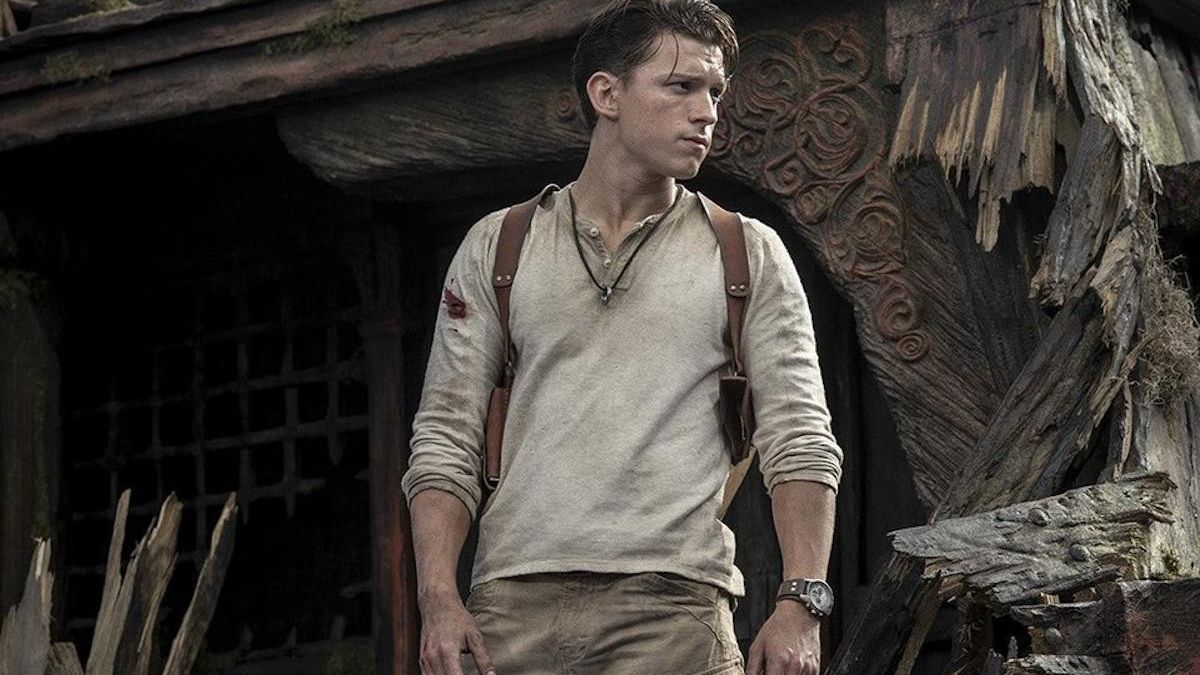 Una imagen de Tom Holland en 'Uncharted'.