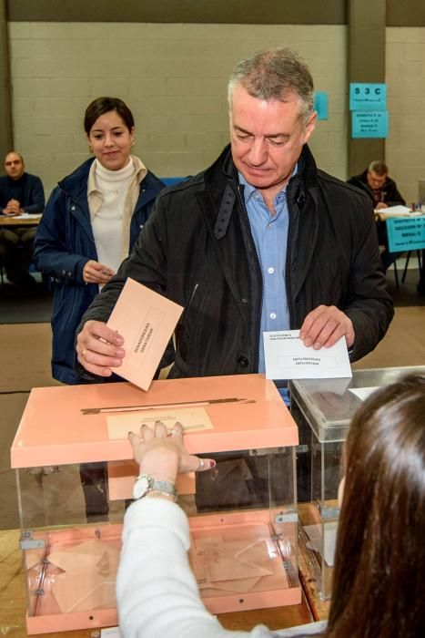 Votación de Urkullu