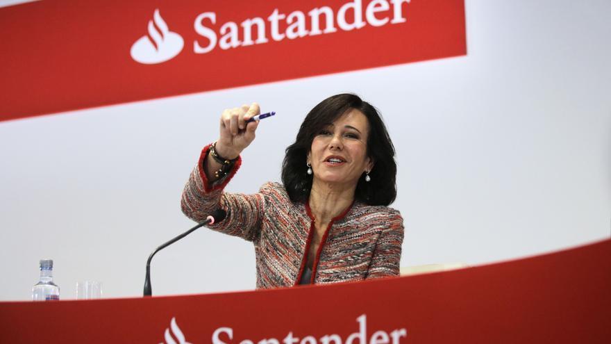 El Santander dispara su beneficio trimestral hasta los 1.608 millones